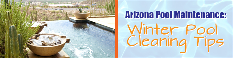 Scottsdale Infinity Pool Winter Maintenance Header